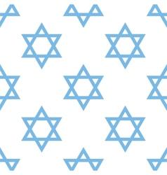 Judaism seamless pattern vector image