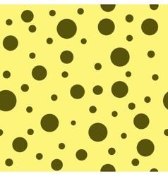 Polka dot brown seamless pattern vector image