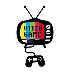 video game vector image
