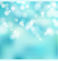 bokeh blue and white sparkling lights festive vector image vector image
