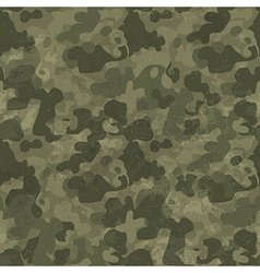 Military camouflage seamless pattern Grunge and vector image