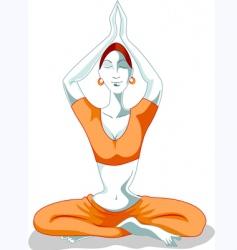 women posing vector image
