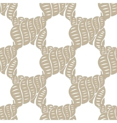 Sea ocean pattern watercolor shells background vector