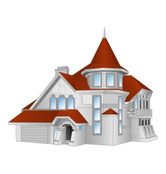 house cottage vector image