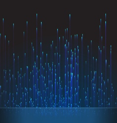 Abstract Background Fiber Optic Trace Blue Signal vector image
