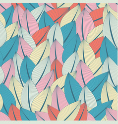 beautiful fashionable seamless pattern abstract vector image