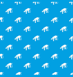 Big corded drill pattern seamless blue vector