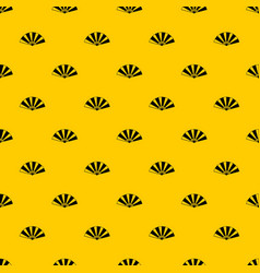 chinese fan pattern vector image