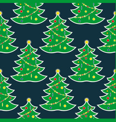 christmas seamless pattern12 vector image
