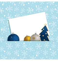 Christmas snowflake decoration vector