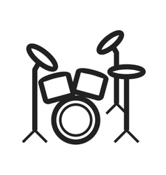 Drum Set vector