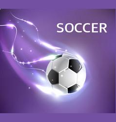 Soccer football tournament poster vector