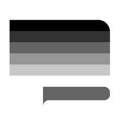 Straight pride flag vector