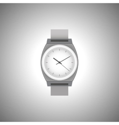 Wrist Watch in black and white vector image