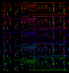a set of banners for electronics vector image