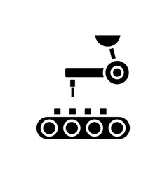 robotic technology icon vector image