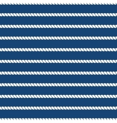 Striped nautical ropes bright seamless background vector image vector image