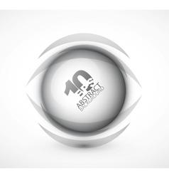 techno hi-tech circle vector image