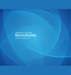 Abstract blue light lines modern background vector
