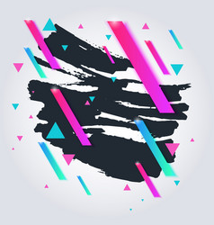 Abstract splashes a modern background vector