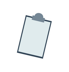 clipboard checklist report medical equipment vector image