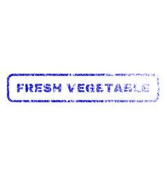 Fresh vegetable rubber stamp vector
