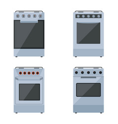 gas stoves vector image