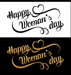 Happy womans day card vintage love background 8 vector