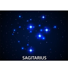Set of Symbol Zodiac Sagitarius vector image