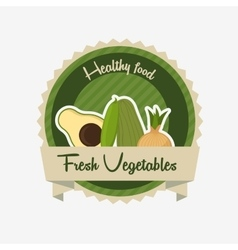 vegetarian food menu vector image