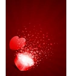 heart present vector image vector image