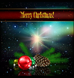 Abstract celebration background with christmas vector