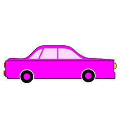 Car icon on white vector image