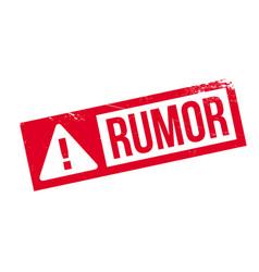 Rumor rubber stamp vector