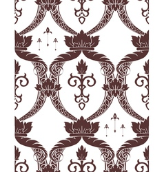 seamless noble pattern vector image