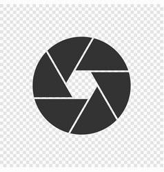 shutter camera icon vector image