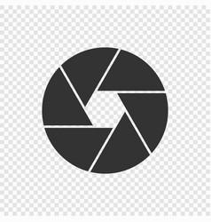 Shutter camera icon vector