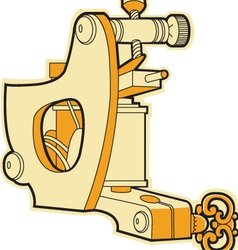 tattoo machine vector image