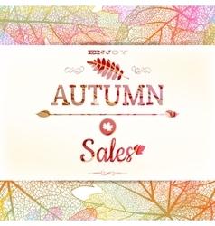 Big autumn sale EPS 10 vector image vector image
