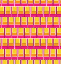 Seamless rectangular tile pattern vector image vector image