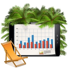 Business and Vacation Concept vector