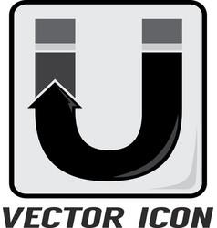 Letter u logo vector