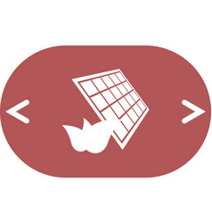 Solar energy eco concept icon vector
