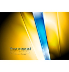 Two-colored abstract elegant design vector image
