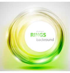 Abstract rings background vector image
