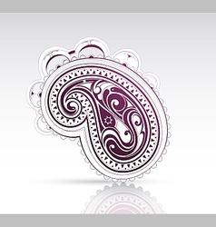 Ethnic ornament as design element vector image