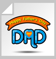 Fathers day icons 15 vector
