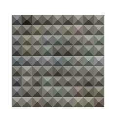 Argent Grey Abstract Low Polygon Background vector