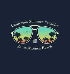 california surfer tee graphic vector image