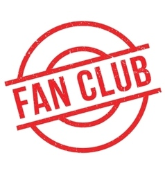 Fan club stamp vector